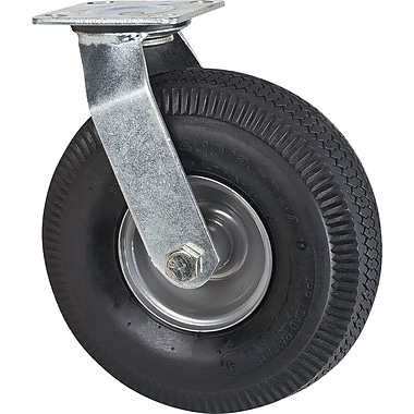 Heavy-duty Platform Truck, Replacement Casters, Tread Width, 3