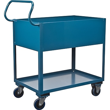 Deep Lipped Service Cart