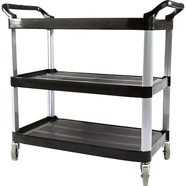 Atlas Graham 3-Shelf Plastic Utility Cart, 19