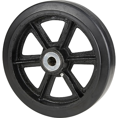 Mold-on Rubber Wheels, Wheel Material, Mold-on Rubber, Mold-on Wheels, Tread Width, 2.5
