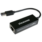 Diamond Multimedia (UE3000) USB 3.0 Gigabit Ethernet LAN Network Adapter for PC