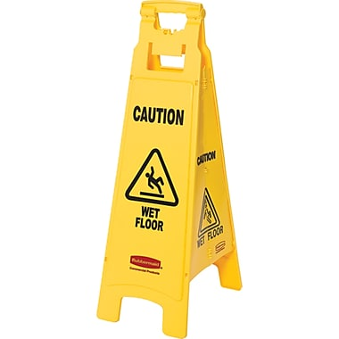 Floor Safety Signs, NC529, Wet Floor