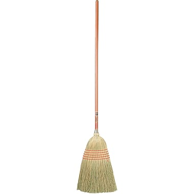 Standard Corn Brooms, 5/Pack
