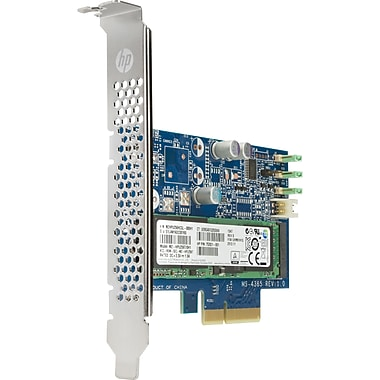 HP – Z Turbo disque dur SSD, 256 Go, PCI Express, carte enfichable (M1F73AT)