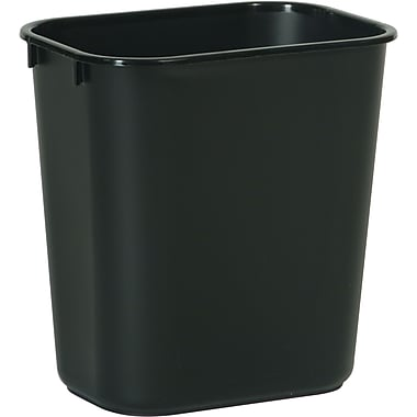Soft Wastebaskets, Cap. Quarts, 14, 6/Pack