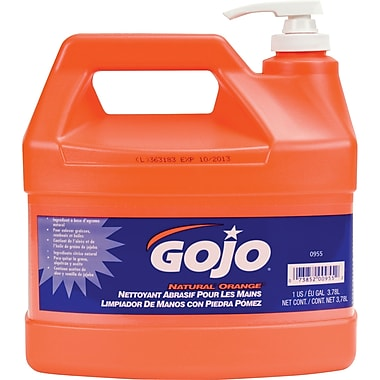 Gojo – Nettoyant à mains naturel à la pierre ponce à l'orange, NI254