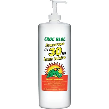 Croc Bloc SPF 30 Sunscreen Lotion in Bulk, 2/Pack