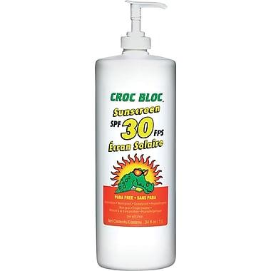 Croc Bloc - Écran solaire grand format, FPS 30, 2/paquet