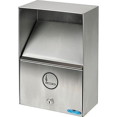 Réceptacles de fumoir extérieurs, cendrier avec couvercle, Poids (lb) : 11