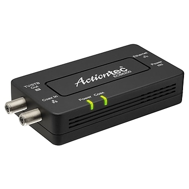 Actiontec Bonded MoCA 2.0 Ethernet to Coax Network Adapter, Single, 1 x Network (RJ-45), Gigabit Ethernet, (ECB6200S02)