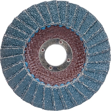 Flap Wheels, Merit Metal Flap Discs, NR153, 12/Pack