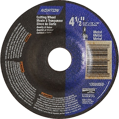 Depressed Centre Grinding Wheels, Norton Metal Type 27, NR881, 25/Pack