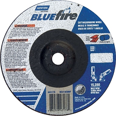 Norton Blue Fire Grinding Wheel, Nr992