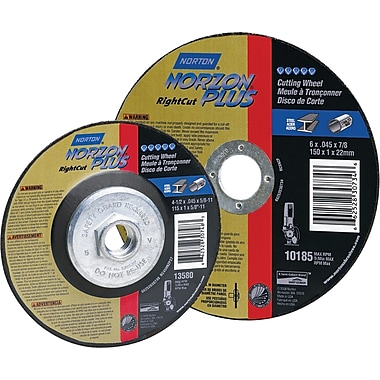 Right Angle Grinder Reinforced Cut-off Wheel, Norzon Plus Rightcut