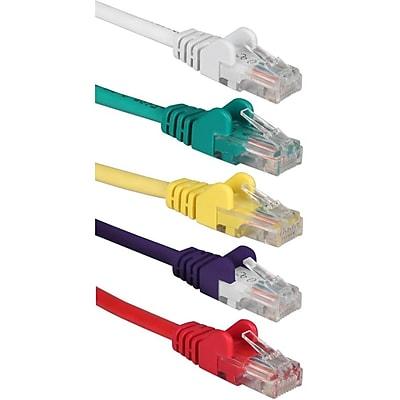 QVS Cat.5e Patch Network Cable (CC5-03RP)