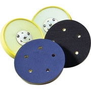 Back Up Pads For Psa & Hook And Loop Paper Discs, Firm Density, NZ049, 3/Pack