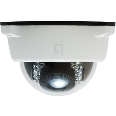 LevelOne® FCS-3102 2MP Wired Fixed Dome IP Network Camera, Motion Detection, White