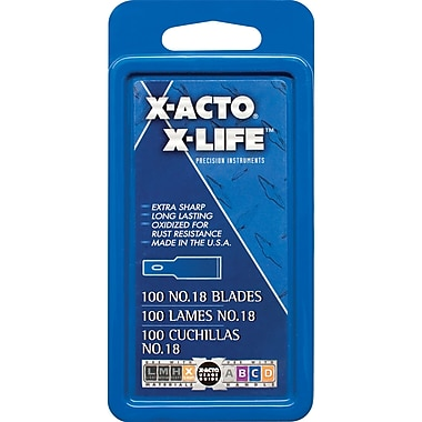 Blade, Xacto #18, 100/box
