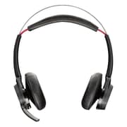 Plantronics  Voyager Focus UC B825 Over-the-Head Stereo Headset with ANC Microphone, Black