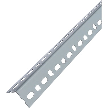 Slotted Angle Shelving, Slotted Angles, Finish, Powder Coated Steel, RH949, 5/Pack