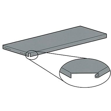 Étagères à angle rainuré, tablettes, poids lb, 18,5, RG993, paquet de 2