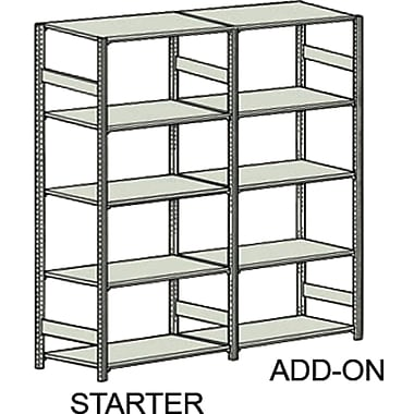 Easy-Up 5000 Shelving, Foot Plate, 36/Pack