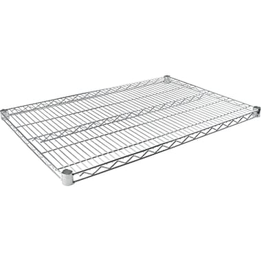 Chromate Wire Shelving, Wire Shelves, RL041, 3/Pack