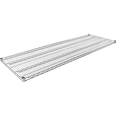Chromate Wire Shelving, Wire Shelves, RL038, 3/Pack