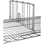 Chromate Wire Shelving, Dividers for Shelf, RL050, 12/Pack