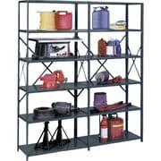 Heavy-Duty Ultracap Steel Shelving, Extra Shelves, RL244, 3/Pack