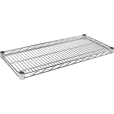Chromate Wire Shelving, Wire Shelves, RL607, 4/Pack