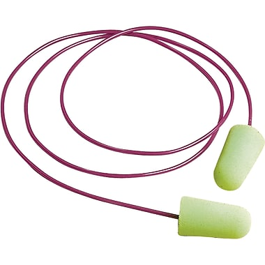 Pura-fit Foam Ear Plugs, SAG837, 200 Pairs/Box