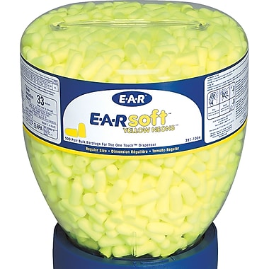 E-a-rsoft Yellow Neons & Blasts Earplugs, Sah874
