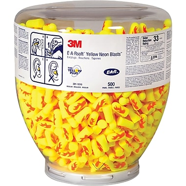 E-a-rsoft Yellow Neons & Blasts Earplugs, Sai104