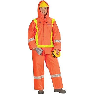 Hurricane Flame Retardant/oil Resistant Rain Suits, Traffic Suit, Sai130, 2x-large