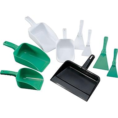 Spill Kit Tools, Dustpans, Dustpan Charcoal Grey, Polypropylene, Dimensions L