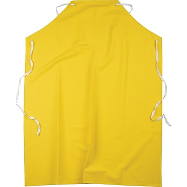 Flame Resistant Pvc On Polyester Aprons, Sal660, 48 Inch X 36 Inch, 36/Pack