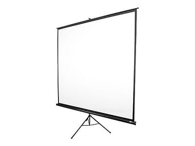 Elite Screens® Tripod T99NWS1 Floor Mount Manual Pull Up 99