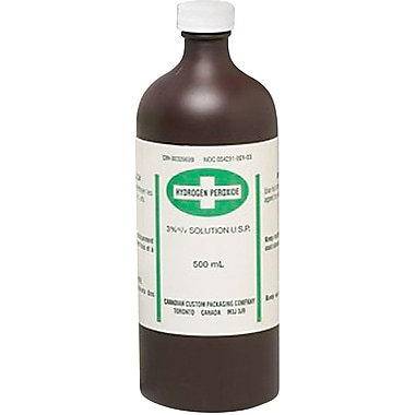 Hydrogen Peroxide, SAM945, Topical antiseptic, 36/Pack