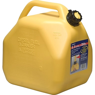 Jerry Cans, Capacity Us Gallons, 5.3, Sap399
