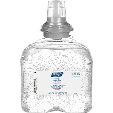 Purell – Recharge de désinfectant pour les mains, 1,2 l, non parfumé, paq./3 (SAQ140)