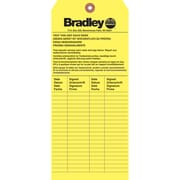 Bradley Emergency Inspection Tags, 36/Pack