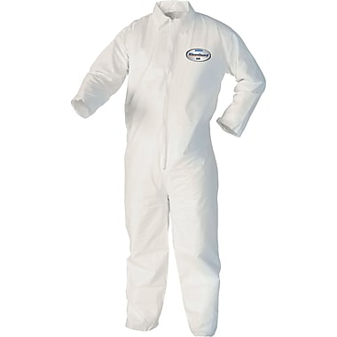Kleenguard A40 Coveralls, Saq759, Medium, 12/Pack