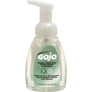 Gojo Green Certified Foam Hand Cleaner Pump Bottle