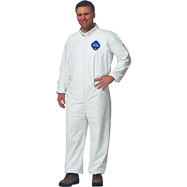 Tyvek Coveralls, Sas035, Medium, 12/Pack