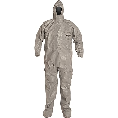 Tychem F Coveralls, Sas200, Medium