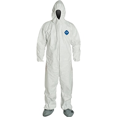 Tyvek Coveralls, Sav168, X-Large, 6/Pack