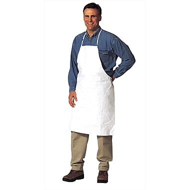 Tyvek Protective Clothing, Apron, 36/Pack