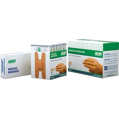 Fabric Dressings, Knuckle Bandages, Sterile, SAY269, 600/Pack