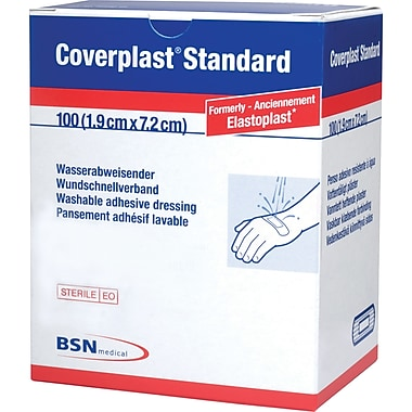Coverplast Plastic Bandages, 1200/Pack
